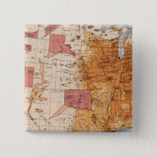 10 Population 1870 Pinback Button