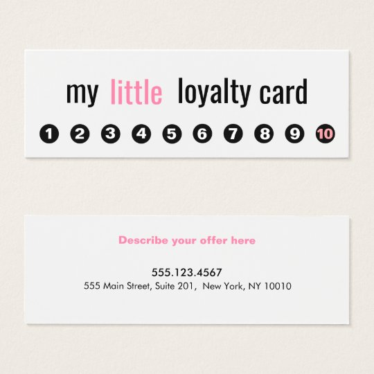 punch card templates