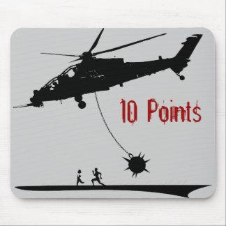 10 puntos del cojín de ratón mouse pads