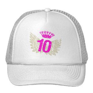 #10 Raspberry Wings Trucker Hat