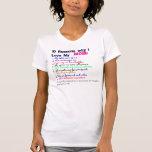 10 razones por las que amo a mi mamá camisetas