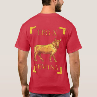10 Roman Legio X Gemina Vexillum T-Shirt