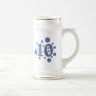 10-Ten Beer Stein