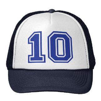 10 - ten mesh hat