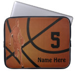 10 to 15 inch Basketball Laptop Case NAME, NUMBER Laptop Sleeves
