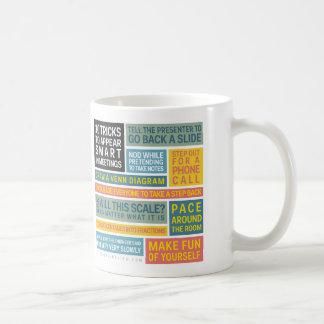 10 Tricks to Appear Smart During Meetings Coffee Mug