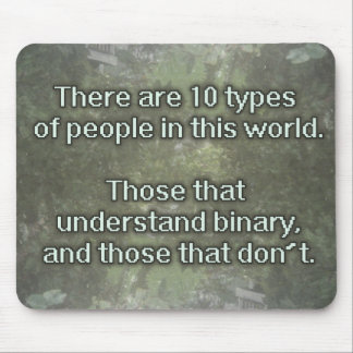 10 types of people mousepad