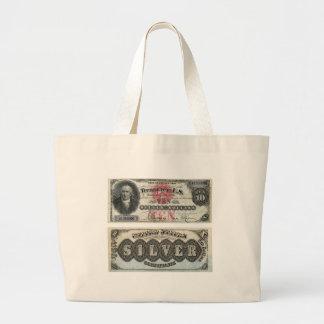 $10 U.S. Banknote Silver Certificate 1878 Bag