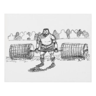 10 Wheeler Deadlift Panel Wall Art