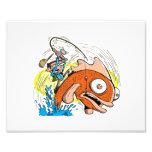 10 x 8 Print - Fishing Cartoon - Master Fisherman