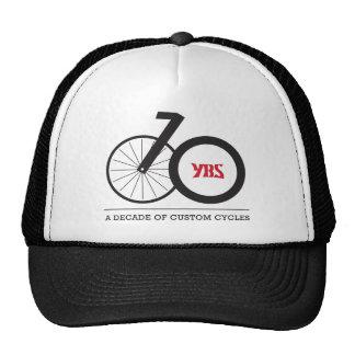 10 Year Anniversary Trucker Style Trucker Hats