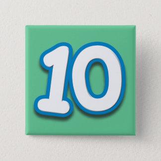10 Year Birthday or Anniversary - Add Text Button