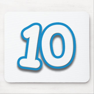10 Year Birthday or Anniversary - Add Text Mouse Pad