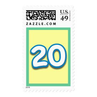 10 Year Birthday or Anniversary - Add Text Postage