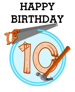Tool Birthday Cards Zazzle