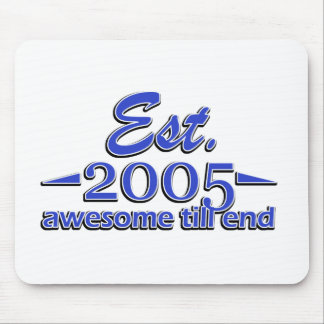 10 year old designs mouse pad