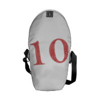 10 years anniversary courier bag