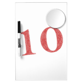 10 years anniversary Dry-Erase boards