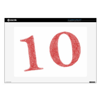 10 years anniversary skin for laptop