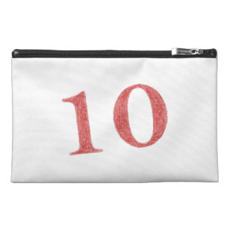 10 years anniversary travel accessory bag