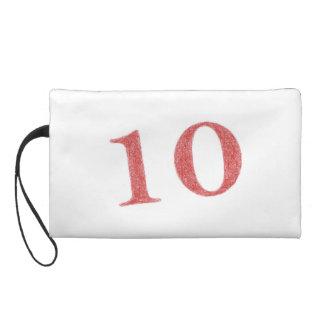 10 years anniversary wristlet purse