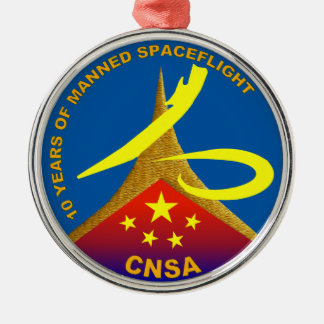 10 Years of Manned Spaceflight Ornament