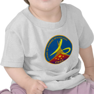 10 Years of Manned Spaceflight Shirts