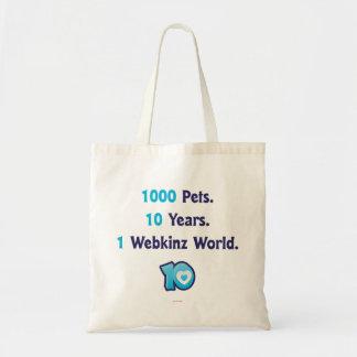 10 Years of Webkinz Stats Tote Bag