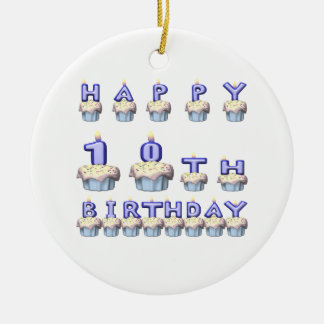 10 Years Old Ceramic Ornament