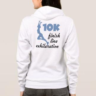 10K Blue Finish Line Hoodie