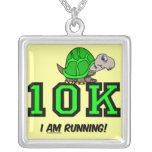 10K divertido Pendiente Personalizado