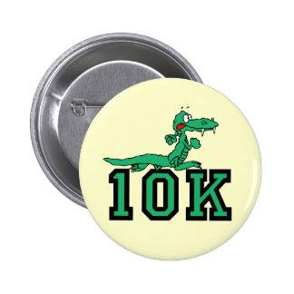 10K gator Pinback Button