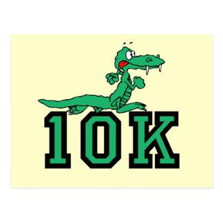 10K gator Postcard