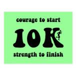 10K inspirado Postal