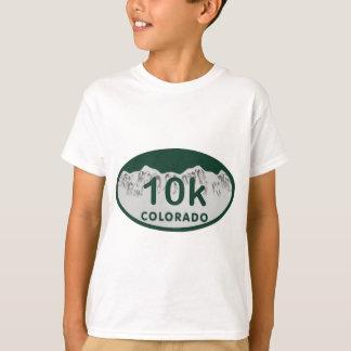 10k license oval T-Shirt