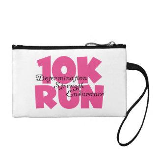 10K Run Pink Sports Running Coin Wallet