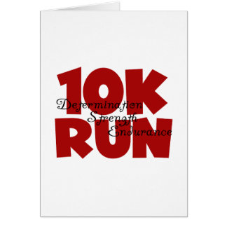 10K Run Red Cards
