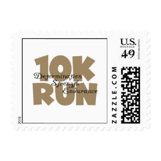 10K Run Tan Sports Running Postage