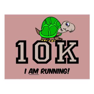 10K running Postcard