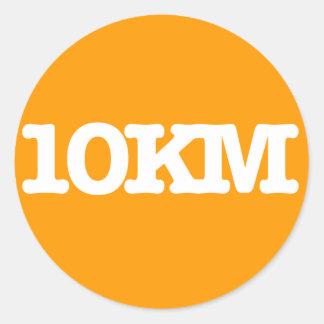 10KM Sticker