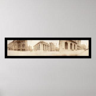 10ma foto 1909 del St. de Kansas City Póster