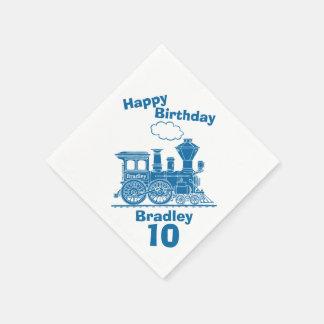 10mas servilletas nombradas del cumpleaños de los servilletas desechables
