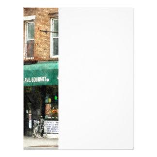 10mo Avenida. Tienda de delicatessen en Manhattan Tarjetón