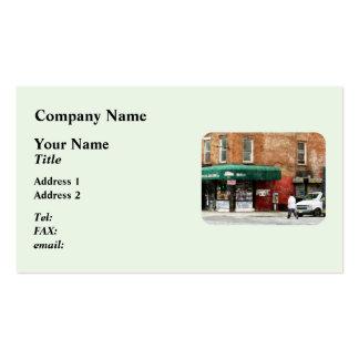 10mo Avenida. Tienda de delicatessen en Manhattan Tarjetas De Visita