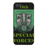 10mo Boinas verdes de las fuerzas especiales i iPhone 5 Protectores