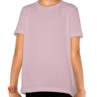 10mo Corazones púrpuras V03A del cumpleaños Camiseta