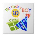 10mo cumpleaños de los muchachos azulejos