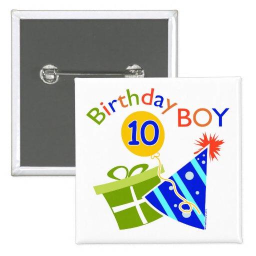 10mo cumpleaños de los muchachos pins