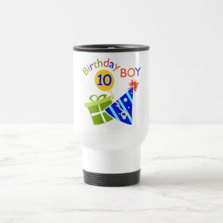 10mo cumpleaños de los muchachos tazas de café