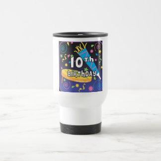 10mo Cumpleaños Taza De Café